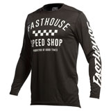 FastHouse Carbon Jersey Black