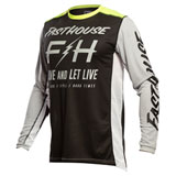 FastHouse Grindhouse Clyde Jersey Black/Silver