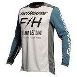 FastHouse Grindhouse Clyde Jersey White/Slate