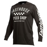 FastHouse Youth Carbon Jersey Black