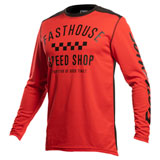 FastHouse Youth Carbon Jersey Red/Black