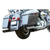 Firebrand Double Down Slip-On Motorcycle Exhaust (NO CA)