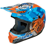 Fly Racing Kinetic Fly-Bot Youth Helmet