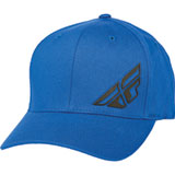 Fly Racing F-Wing Flex Fit Hat Blue