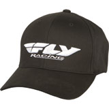 Fly Racing Podium Flex Fit Hat Black