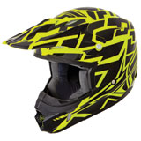 Fly Racing Kinetic Block Out Youth Helmet 2015