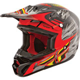Fly Racing Youth Kinetic Pro Short Replica Helmet