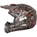 Fly Racing Youth Kinetic Jungle Helmet