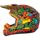 Fly Racing Kinetic Jungle Youth Helmet