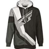 Fly Racing Retro Zip-Up Hooded Sweatshirt