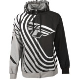 Fly Racing Sonar Zip-Up Hooded Sweatshirt