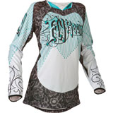 Fly Racing Girl's Youth Kinetic Jersey 2015