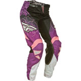 Fly Racing Girl's Youth Kinetic Pants 2015