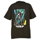 Fly Racing Live For Moto Youth T-Shirt