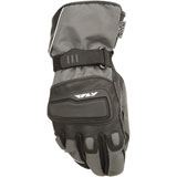 Fly Street Xplore Motorcycle Gloves Gunmetal/Black