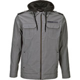 Fly Racing Waxed Zip-Up Hooded Jacket