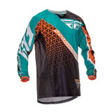 Fly Racing Kinetic Trifecta Youth Jersey