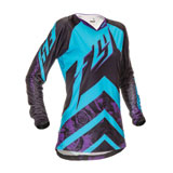 Fly Racing Kinetic Ladies Youth Jersey