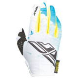 Fly Racing Girl's Youth Kinetic Gloves 2017