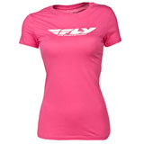 Fly Racing Women's Corporate T-Shirt Berry