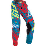 Fly Racing Youth Kinetic Relapse Pants Teal/Red