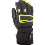 Fly Street Xplore Motorcycle Gloves Hi Vis Yellow/Black
