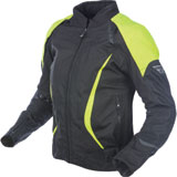 Fly Street Women's Butane Jacket Black/Yellow