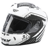 Fly Street Revolt FS Patriot Helmet White/Black
