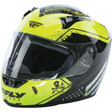 Fly Street Revolt FS Patriot Helmet Black/Yellow