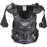 Fly Racing Revel Offroad CE Roost Guard Black