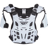 Fly Racing Revel Offroad CE Roost Guard White