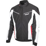 Fly Street Strata Jacket Black/White/Red