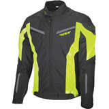Fly Street Strata Jacket Black/Yellow