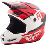 Fly Racing Elite Guild Helmet Red/White/Black
