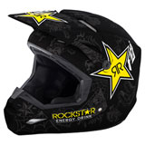Fly Racing Elite Rockstar Helmet Black/Grey