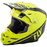 Fly Racing F2 Carbon Rewire Helmet Hi-Vis/Black