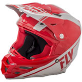 Fly Racing F2 Carbon Rewire Helmet Red/Grey