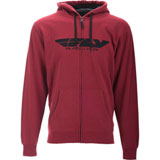 Fly Racing Corporate Zip-Up Hooded Sweatshirt