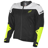 Fly Street Flux Air Mesh Jacket Black/Hi-Vis