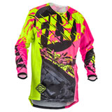 Fly Racing Youth Kinetic Outlaw Jersey
