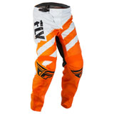 Fly Racing Youth F-16 Pants 2018 Orange/White