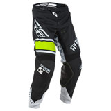 Fly Racing Youth Kinetic Era Pants Black/White