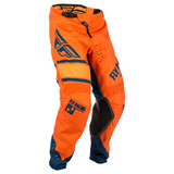 Fly Racing Youth Kinetic Era Pants Orange/Navy