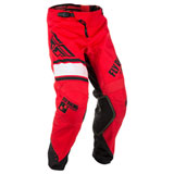 Fly Racing Youth Kinetic Era Pants Red/Black