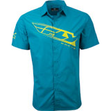 Fly Racing Pit Button Up Shirt