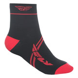 Fly Racing Action Shorty Socks Red/Black