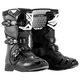 Fly Racing Mini Youth Maverik MX Boots Black/White