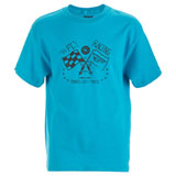Fly Racing Youth Tried and True T-Shirt Turquoise