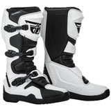 Fly Racing Maverik Boots White/Black