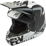 Fly Racing Elite Vigilant Helmet Matte Black/Grey